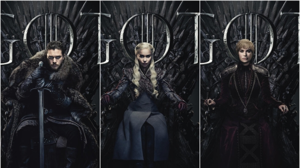 <i>Game of Thrones </i>season 8 poster.