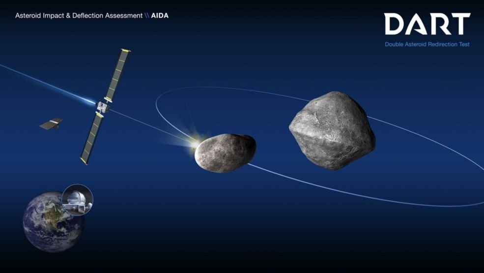 NASA to Crash Spacecraft Into Asteroid to Test 'Planetary Defence'