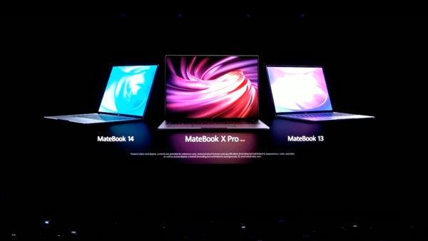 The three new Huawei laptops were announced at the MWC 2019.