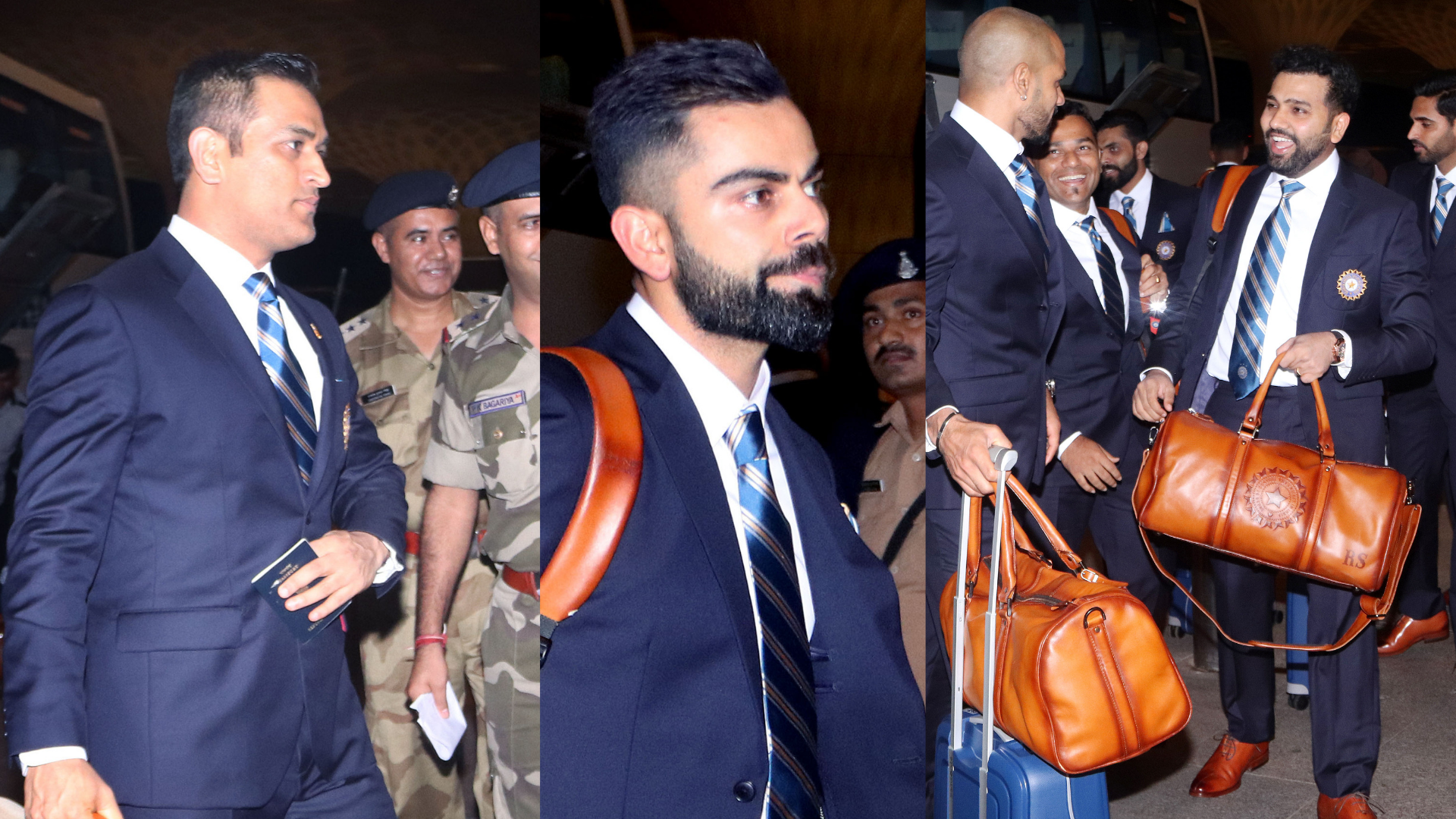 "In Pics: Team India Depart for ""Most Challenging"" World Cup"