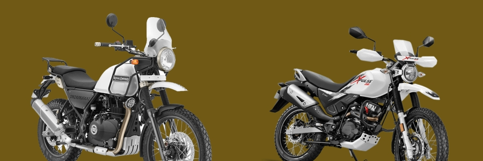 Royal Enfield Himalayan Vs Hero Xpulse Off Road Bike Comparison