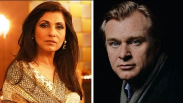 Actor Dimple Kapadia will be seen in a Christopher Nolan film.