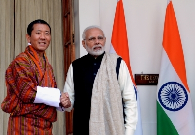 Bhutanese King and PM congratulate Modi