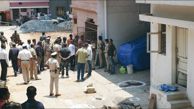 According to ANI, the explosion took place outside the residence of the Congress MLA from Rajarajeshwari Nagar, Munirathna.