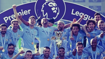 Manchester City beat Brighton on the final day  of the Premier League to lift the title.
