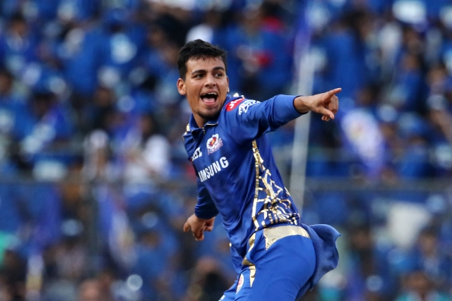 Rahul Chahar made his way into Mumbai Indians' playing eleven in place of a non-performing Mayank Markande.
