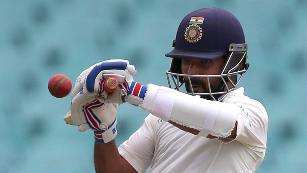 Ajinkya Rahane scored a brilliant century on his County debut for Hampshire.