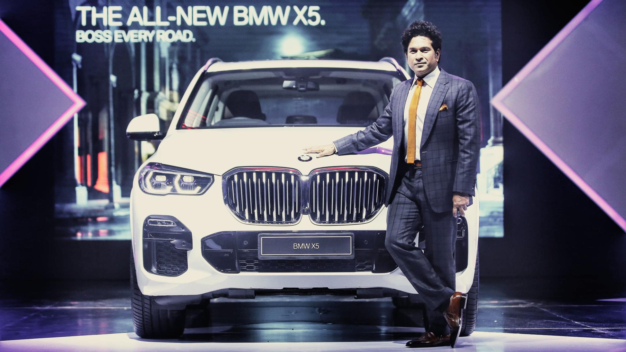 Sachin Tendulkar Launches 2019 BMW X5, Prices Start at Rs 73 Lakh