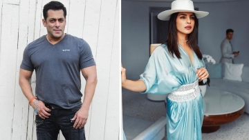Salman Khan taunts Priyanka Chopra for leaving <i>Bharat</i>.