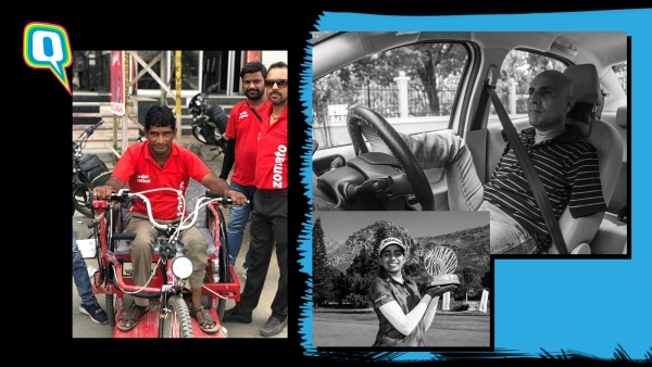 Zomato delivery boy, and these achievers are proof that if it gets the opportunity, the differently abled community can do anything.