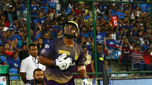 Nikhil Naik scored seven in the only game he played for Kolkata Knight Riders against Delhi Capitals.
