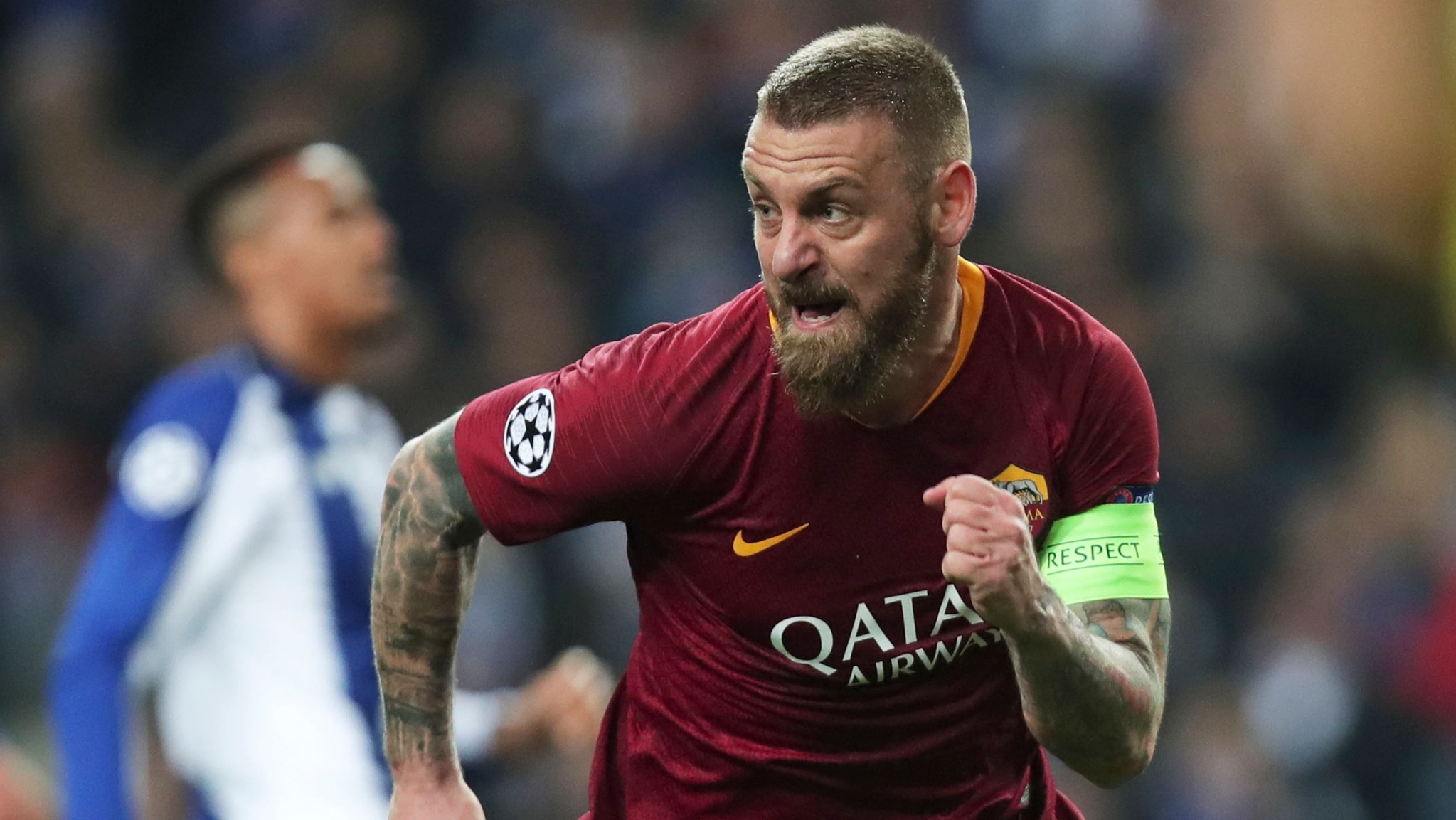 Football Fraternity Reacts As De Rossi Leaves AS Roma After 18 Yrs