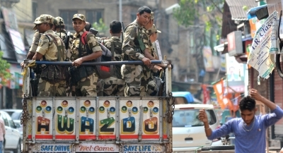 Heightened security arrangements in Bengal for sixth phase