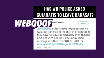 While chatter on social media suggests that all Gujaratis have been asked to leave, the state police denied this.