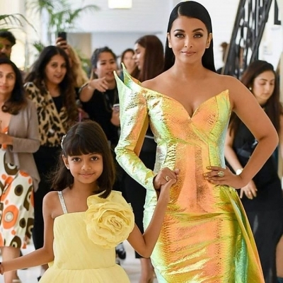 Aishwarya turns into golden mermaid at Cannes