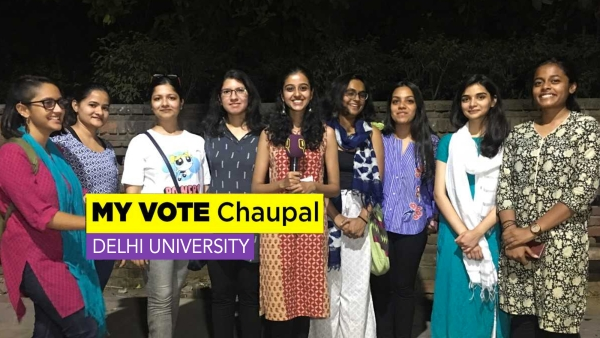 DU Chaupal: Delhi Women Sick of  All Govts' Lip Service to Safety