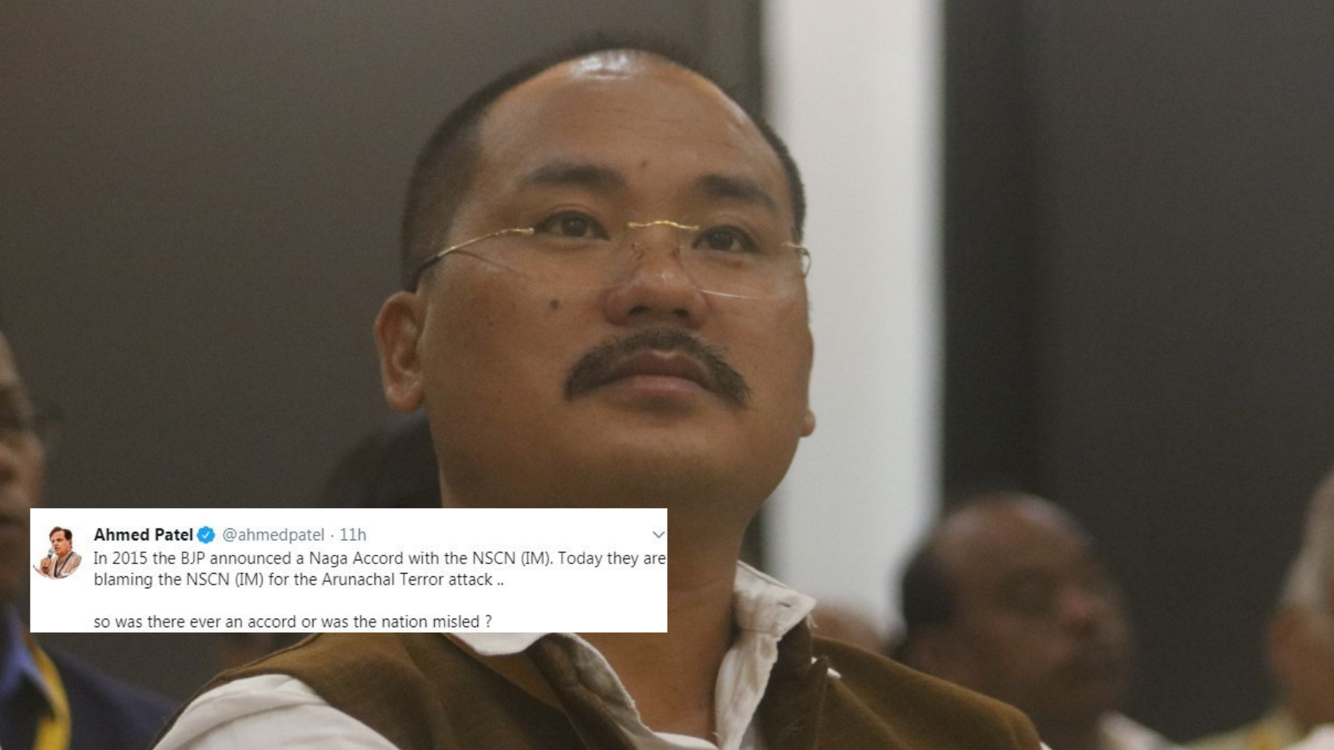 Cong Questions Naga Accord as 11 Including MLA Killed in Arunachal