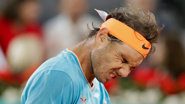 For the third straight time this season, Rafael Nadal won't be fighting for a title on his favourite surface.