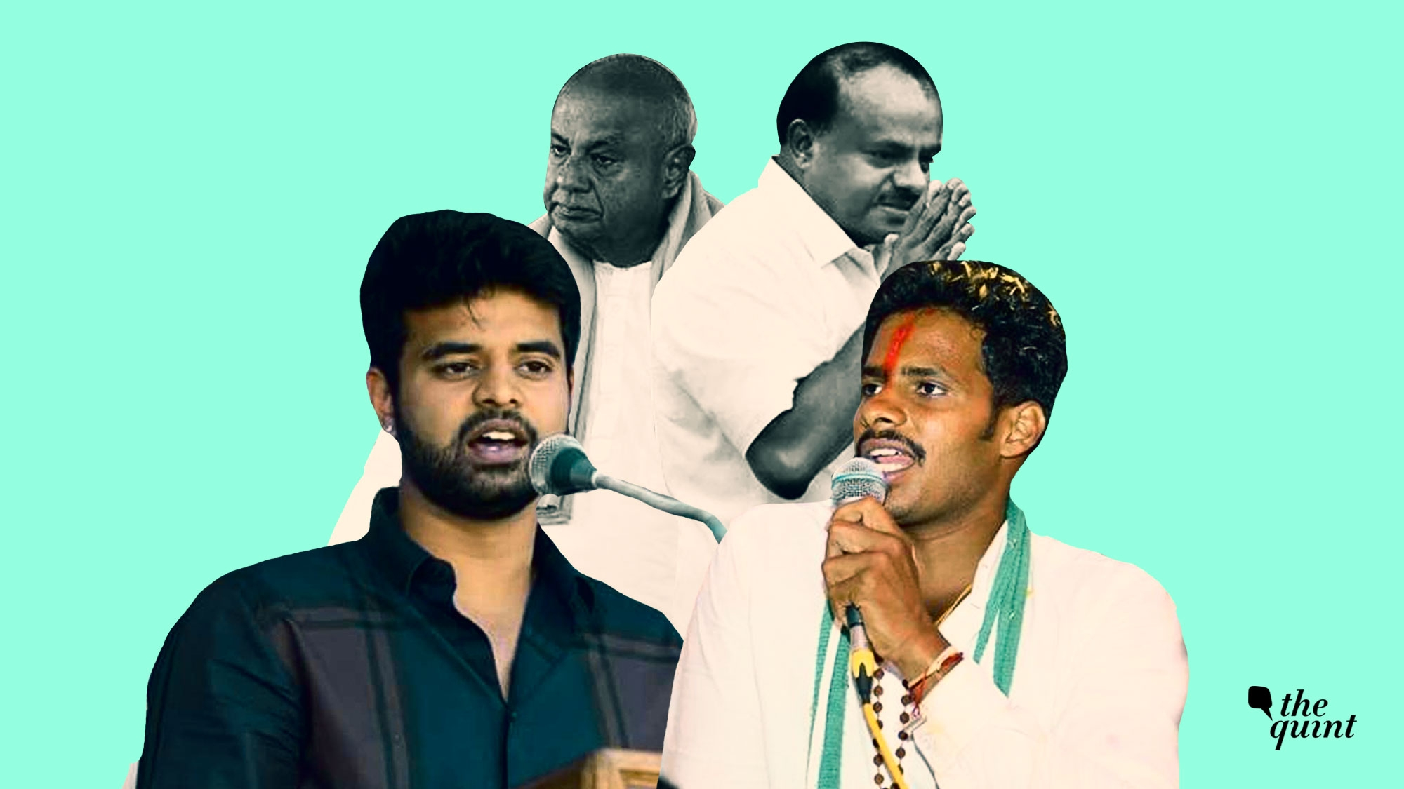 Prajwal Offers up Sole JD(S) Seat in Favour of Supremo Deve Gowda