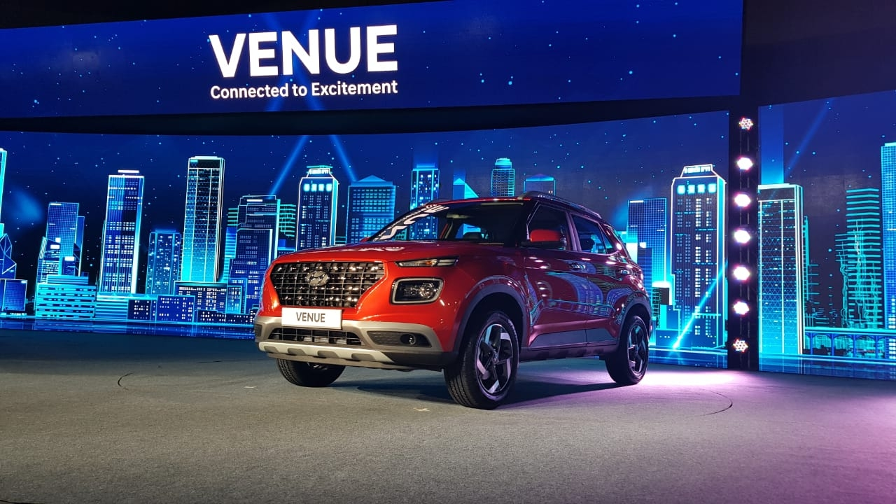 Hyundai Venue Compact SUV Launched, Prices Start at Rs 6.5 Lakh