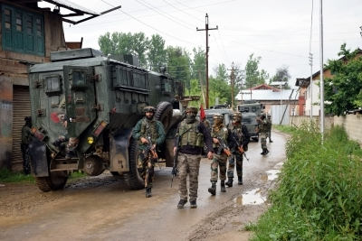 Accused in soldier's murder among four militants killed in J&K