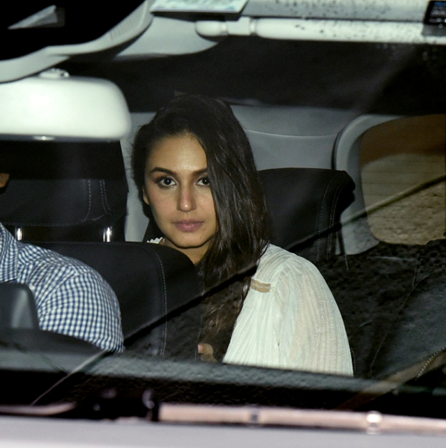 Huma Qureshi, who will be seen in the dystopian drama <i>Leila</i>, was among the guests.