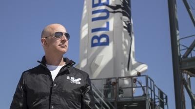 Indian-American activist interrupts Jeff Bezos on-stage