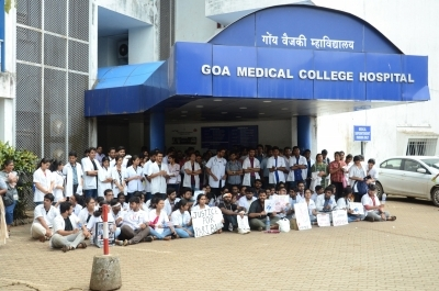 Goa doctors stage march against attack on doctors