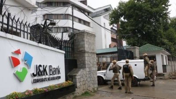 Within hours after the Jammu and Kashmir government sacked J&K Bank Chairman Parvez Ahmed, sleuths of ACB raided his office and residence in Srinagar. (Photo: IANS)