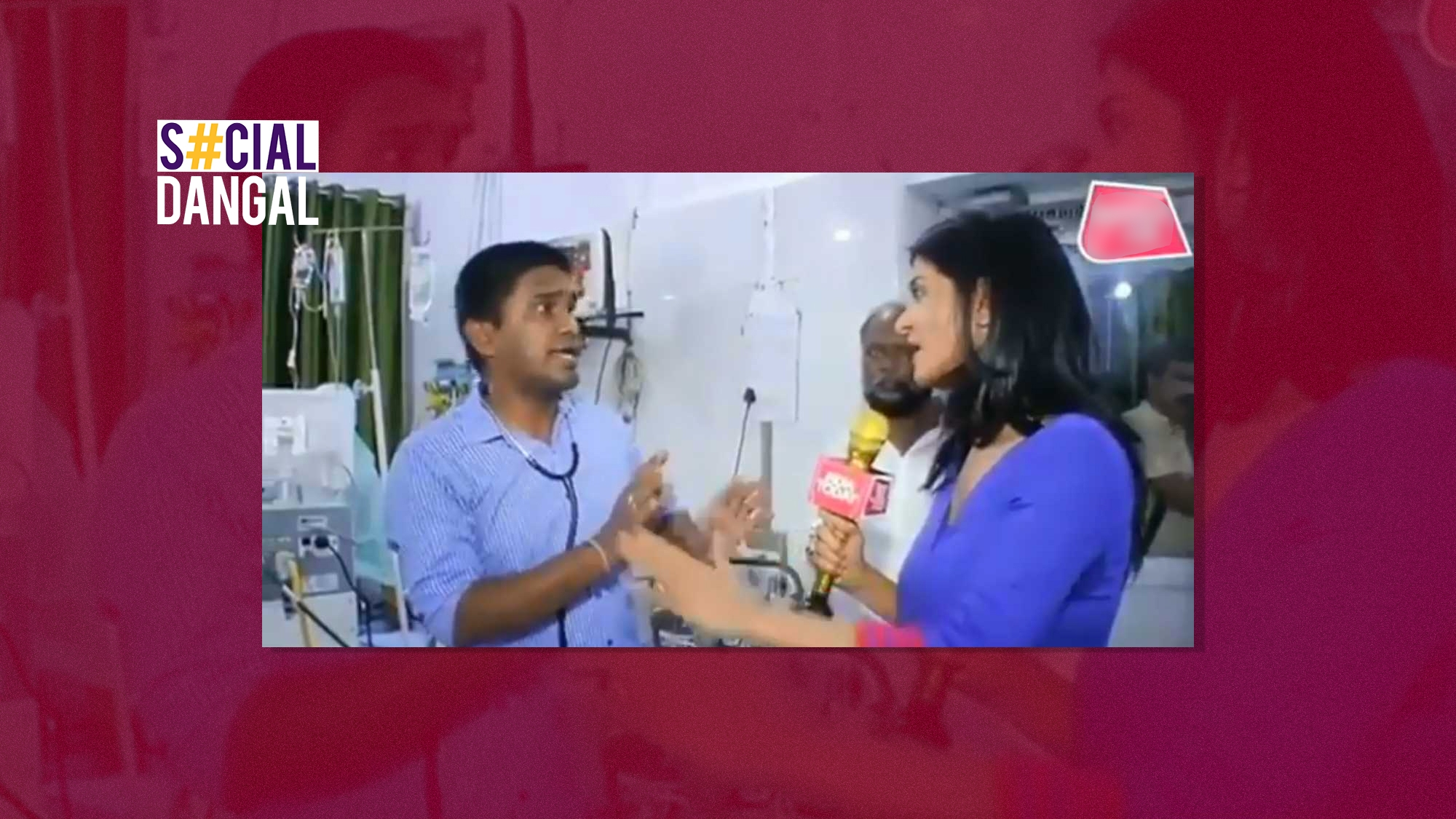 'Why Scold Doctor on Duty?' TV Reporter's ICU Coverage Faces Flak