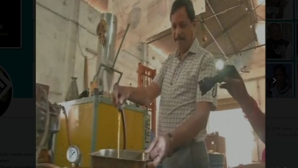 A Hyderabad- Based Mechanical Engineer is Converting Plastic