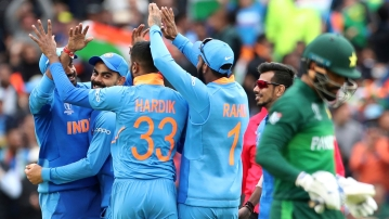 India vs Pak ICC World Cup: India Beat Pakistan by 89 Runs (D/L)