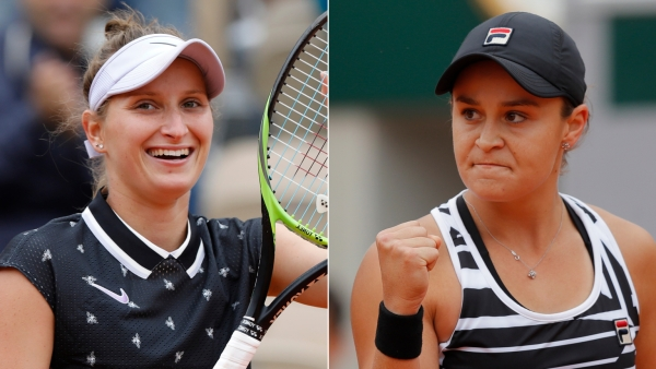 Ash Barty takes on unseeded teen for the championship: 19-year-old Marketa Vondrousova of the Czech Republic.
