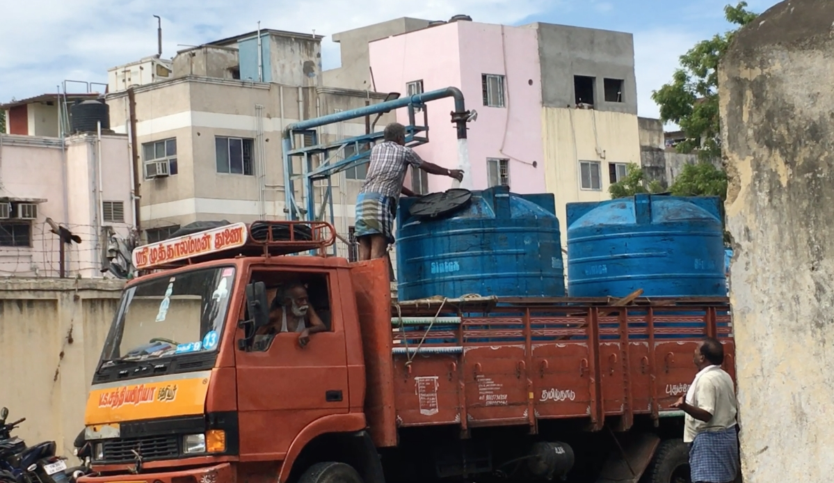 Water Crisis In Chennai Photos: Water Becomes a Luxury Item as