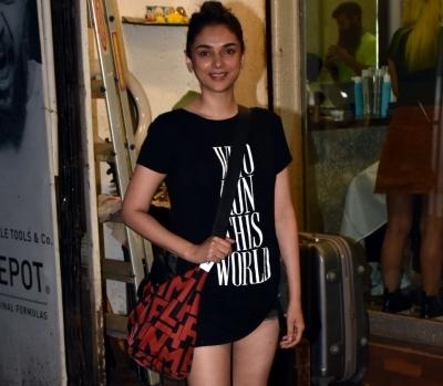 Aditi Rao Hydari recalls her Telugu debut
