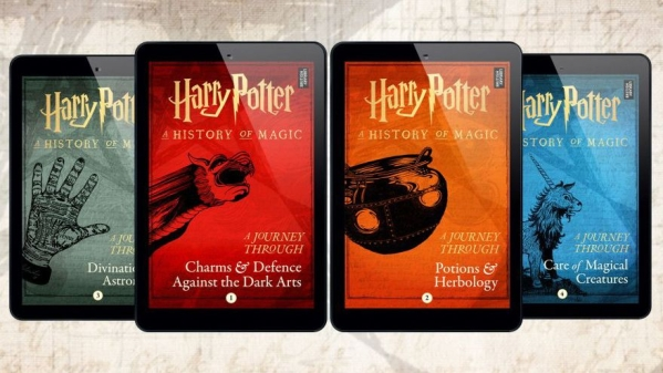 JK Rowling Is Releasing Four New Online Harry Potter Books.