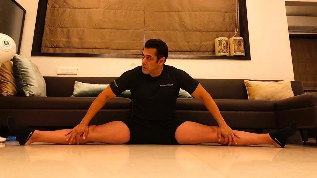 Pics: Salman Khan Shows He's Still Got It with Impressive Split
