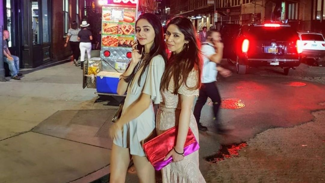 Ananya Panday Wishes Mom Bhavna on B'Day, Calls Her Sister
