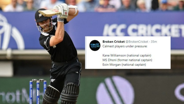 Kane Williamson scored his first World Cup ton