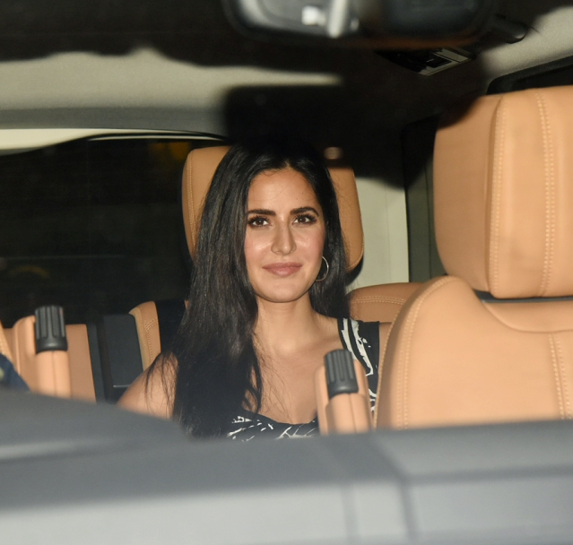 Katrina Kaif, who was last seen in <i>Bharat</i>, is all smiles.