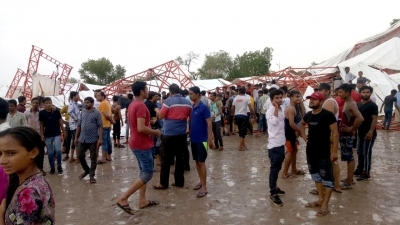 14 dead, 26 injured as tent collapses during rain in Rajasthan