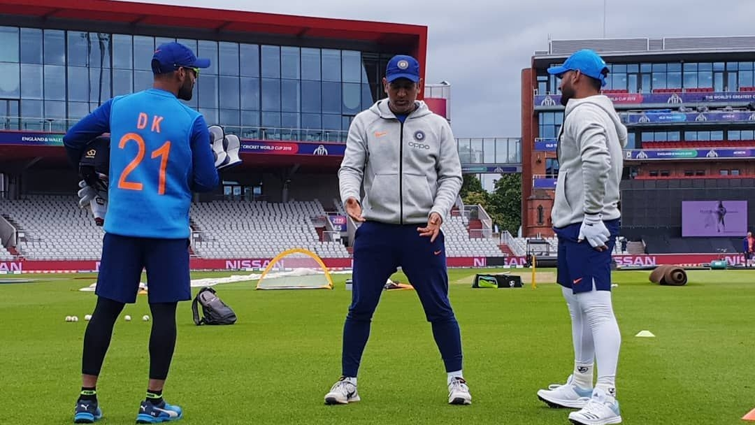 Rishabh Pant Joins the Indian Team Ahead of Pakistan Encounter