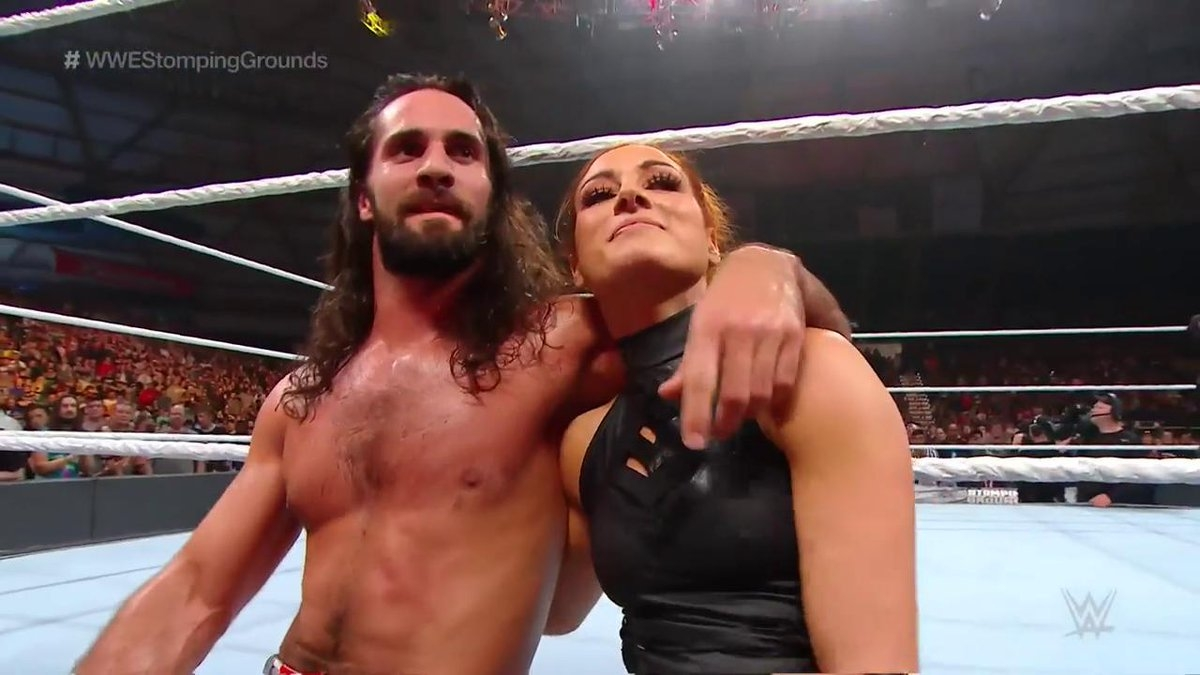 WWE Stomping Grounds 2019: Seth Rollins and Becky Among Winners