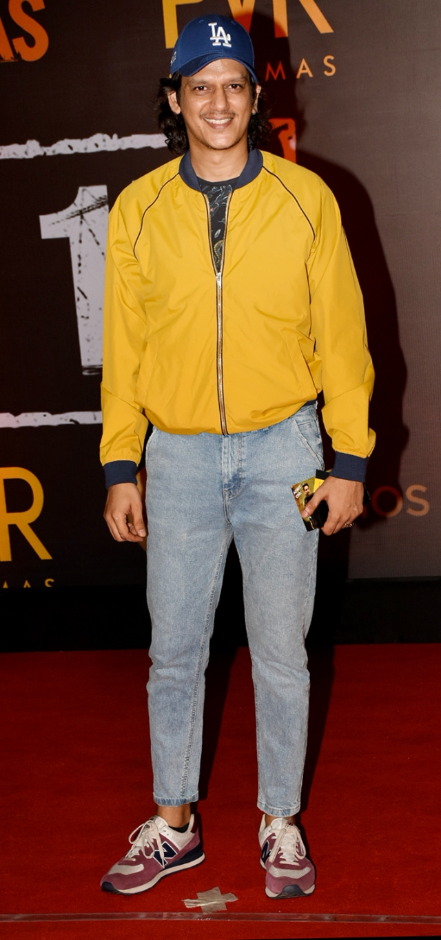 <i>Gully Boy </i>actor Vijay&nbsp; Varma spotted at the screening.