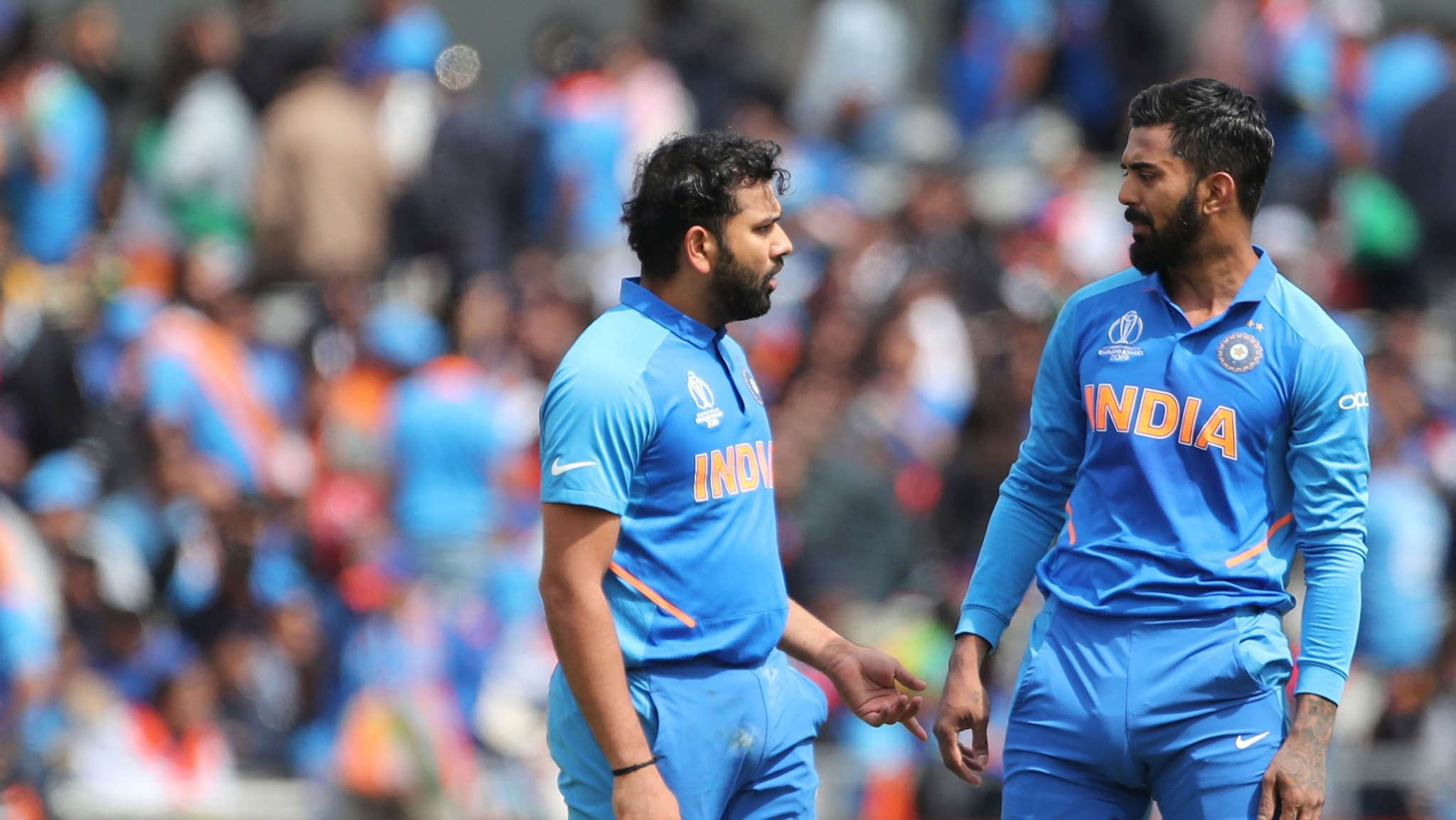Rohit & Rahul Forge India's Highest Opening WC Stand vs Pakistan