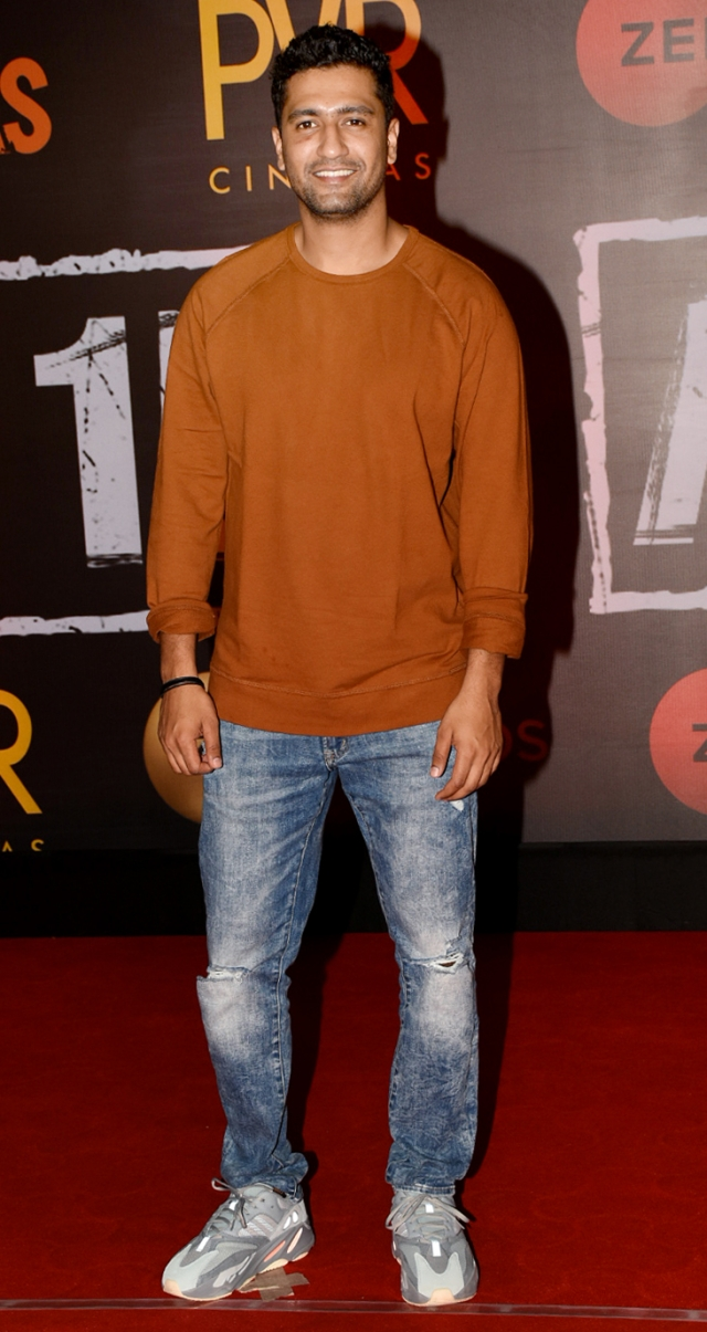 Vicky Kaushal is beaming at the screening of <i>Article 15.</i>
