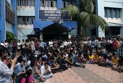 Doctors on strike in Kerala