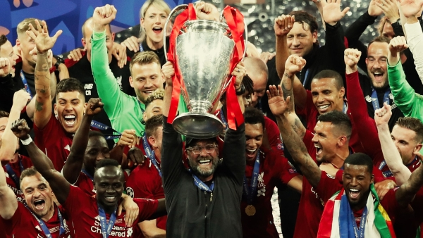 The Champions League final saw Liverpool beat Tottenham 2-0, to lift the trophy for a record sixth time.
