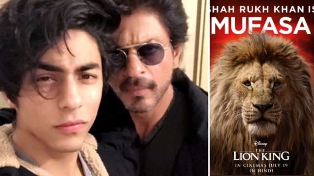 SRK-Aryan Khan to make their reel debut with <i>The Lion King.</i>