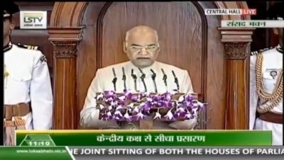 Congress calls Kovind's speech 'hollow, uninspiring'